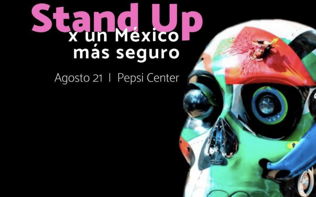 Mexicráneos, orgulloso patrocinador de Stand Up X un México más seguro de Reinserta.